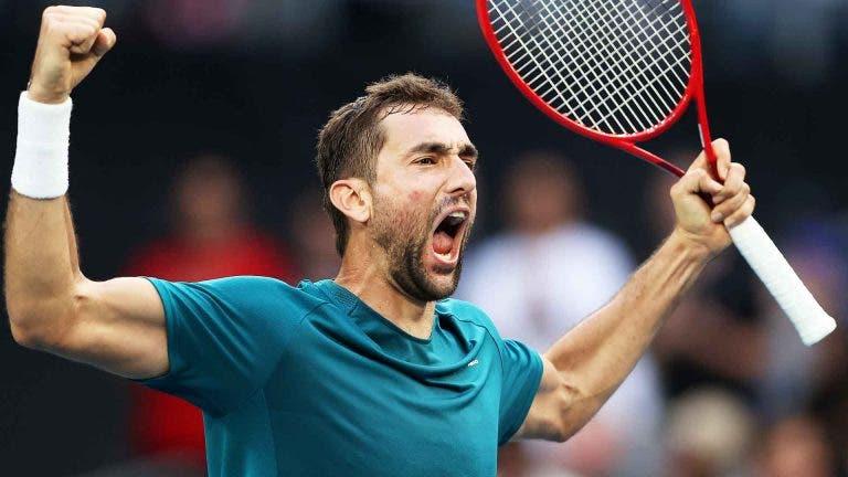 Cilic: «O lado positivo é que no ténis a temporada é muito longa»
