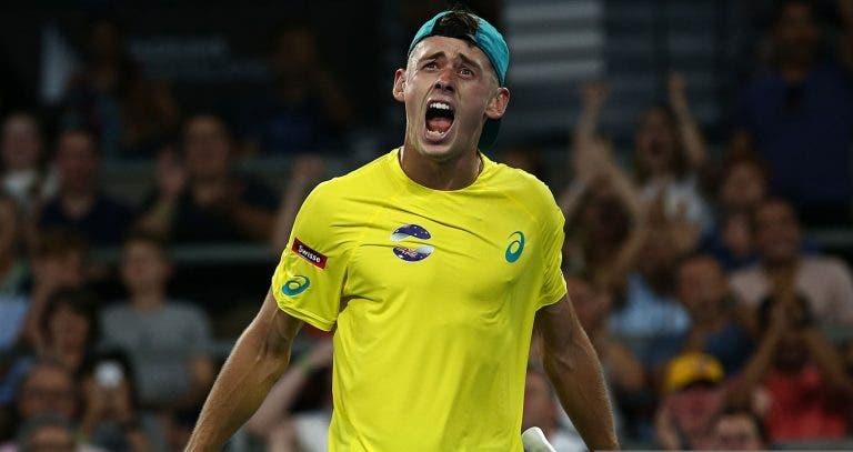 De Minaur: «Devo manter o nível a que joguei com Nadal na ATP Cup»