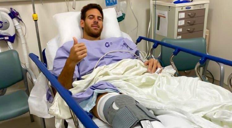 Calvário de Del Potro: operação correu bem e recuperação começa hoje