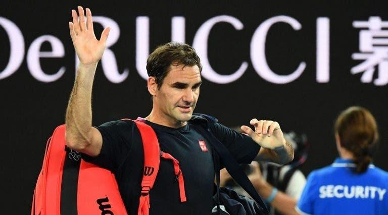 Federer faz ponto de situação da lesão e garante: «Não vão existir mais operações»