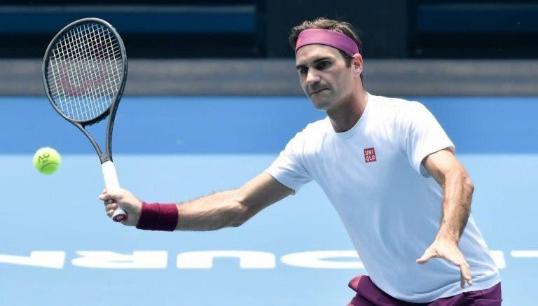 Federer teria terminado 2020 no 29.º posto ATP sem as alterações da covid-19