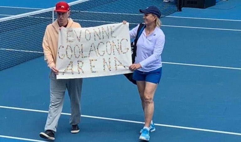 McEnroe mantém desejo de mudar o nome da Margaret Court Arena: «Não me arrependo de nada»