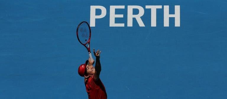Japão (sem Nishikori) atropela o Uruguai na ATP Cup em Perth