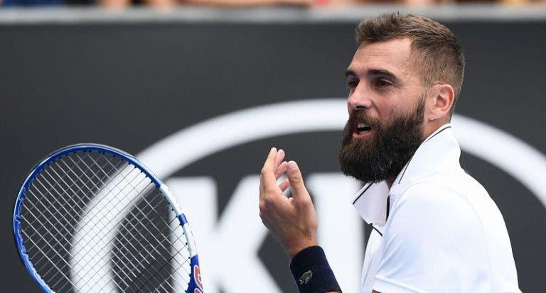 Rei das duplas faltas no Australian Open perdeu… na primeira ronda!