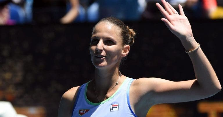 Pliskova e Bencic avançam rumo à segunda ronda na Austrália