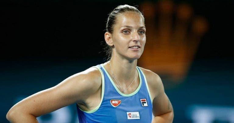 Pliskova: «Os jogadores ATP que não aceitam igualdade de prize-money são muito fracos»