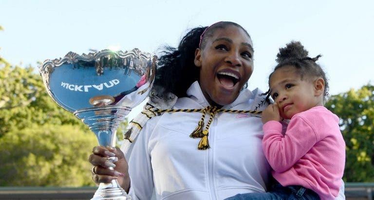 Serena Williams: «É incrível estar aqui depois de tudo o que passei»
