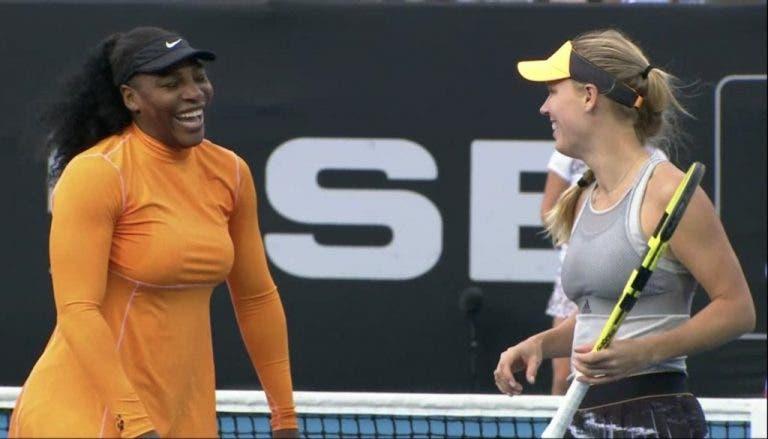 Williams e Wozniacki arrasam 1.ªs cabeças-de-série e estão nas 'meias' de pares em Auckland
