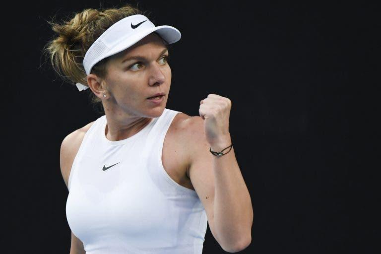 Simona Halep: «Estou muito feliz por não ter ido ao US Open»