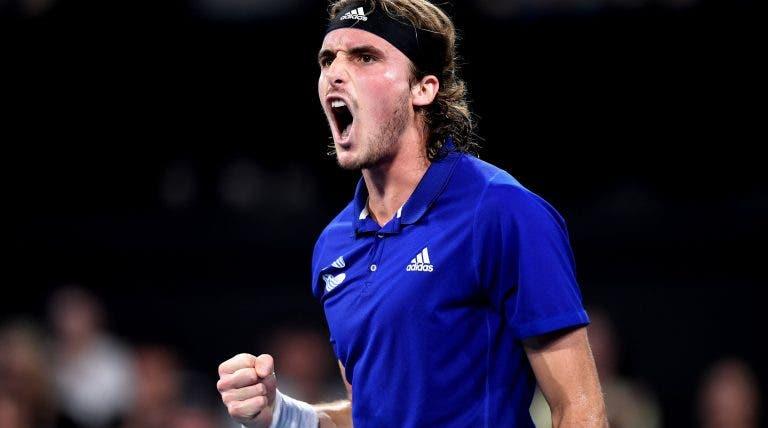 Tsitsipas e a Grécia na Davis Cup: «Penso que podemos atingir grandes metas»
