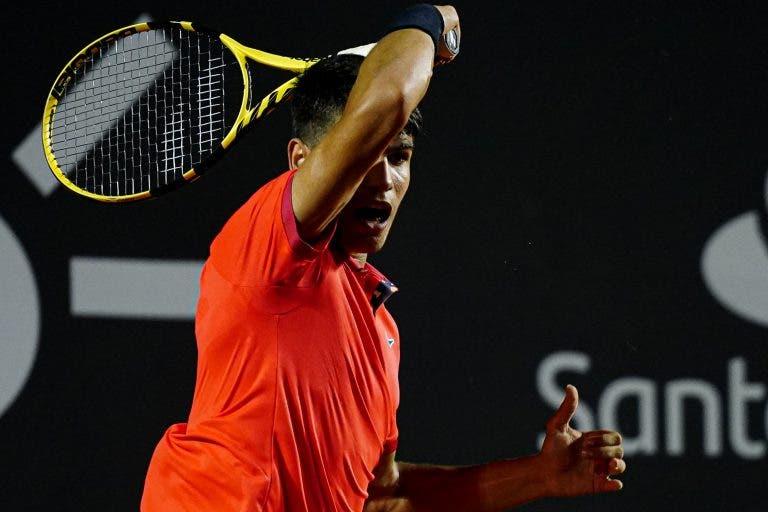 Carlos Alcaraz: «O meu estilo é muito semelhante ao do Federer»