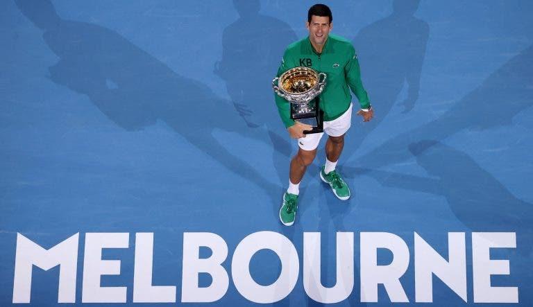 Djokovic e os troféus que já ganhou: «O meu pai está a fazer uma espécie de museu na Sérvia»