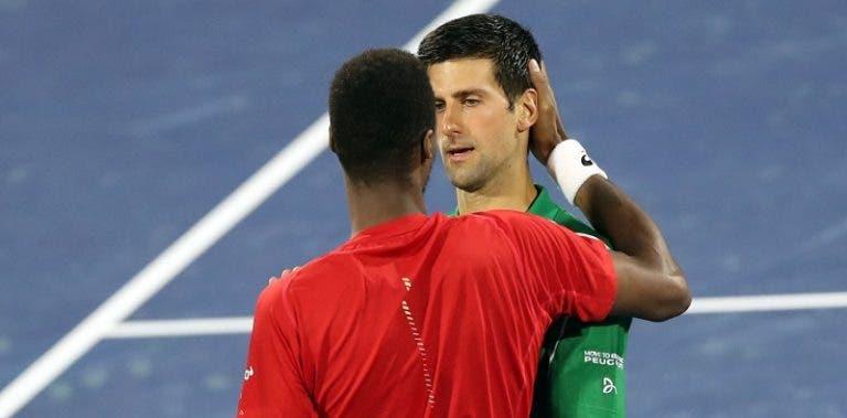Djokovic: «Safei-me, ele foi melhor do que eu durante dois sets»