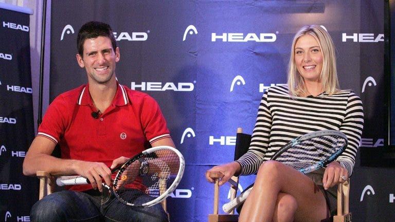 Sharapova lembra o seu primeiro jantar com Djokovic: «Agiste como um fã!»