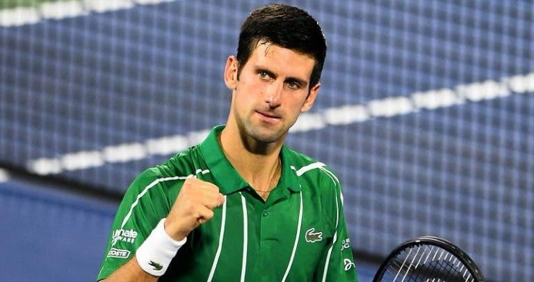 Djokovic continua perfeito em 2020 e conquista ATP 500 do Dubai