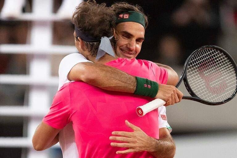 Nadal deixa mensagem bonita a Federer: «Espero que volte o mais depressa possível»