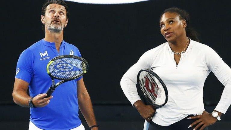 Treinador de Serena desabafa: «Única decisão possível de tomar»
