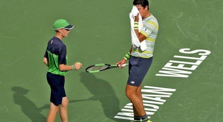 Oficial: Indian Wells proíbe apanha-bolas de darem toalhas aos tenistas