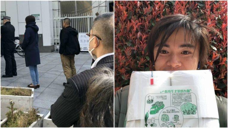 Taro Daniel relata odisseia para comprar papel higiénico no Japão