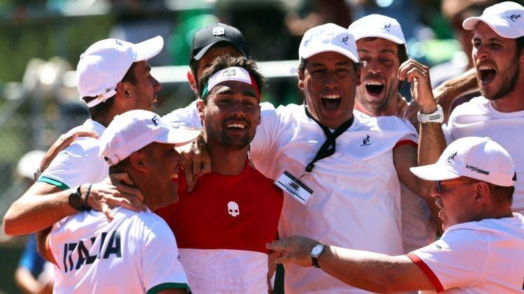 Taça Davis: Itália vs Coreia do Sul vai ser jogado à porta fechada devido ao coronavírus