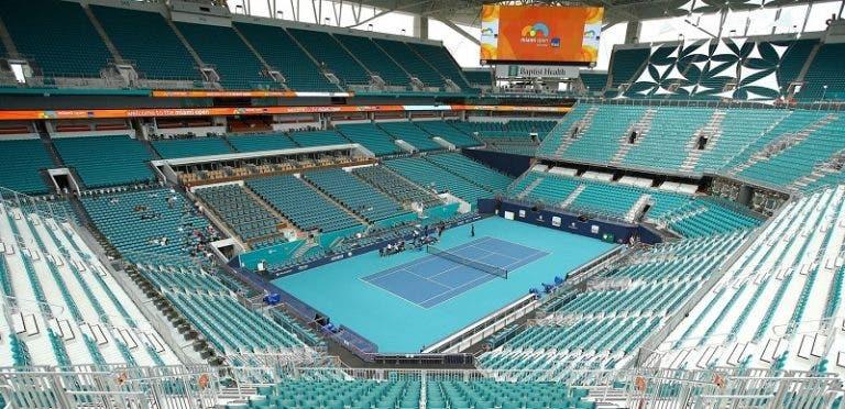 Hard Rock Stadium não vai receber encontros na edição de 2021 do Miami Open
