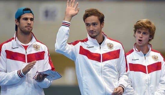 Rússia alcança feito inédito na sua história no ténis masculino