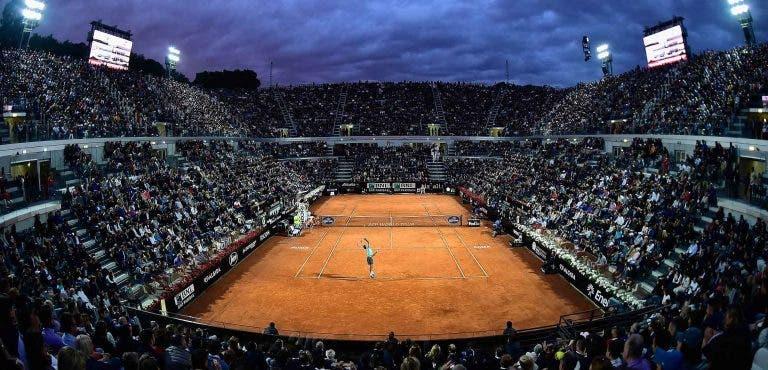 ATP quer expansão do 'quadro' em Roma e pode aumentar prize-money