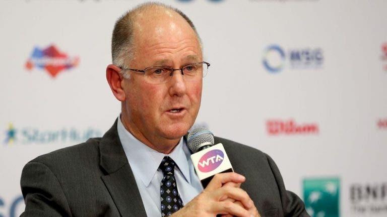 Diretor WTA avisa: «Os estádios não vão estar cheios antes de 2022»