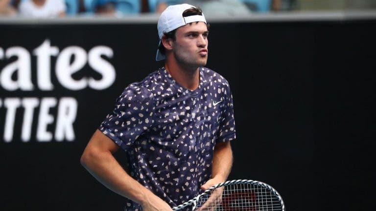 Tommy Paul: «Objetivos? Tenho que ganhar um título ATP rapidamente»