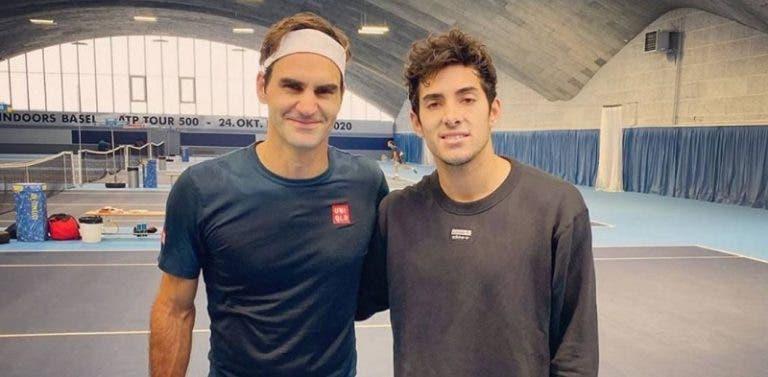 Garín: «A primeira vez que conversei com Federer fiquei em choque com a atitude dele»