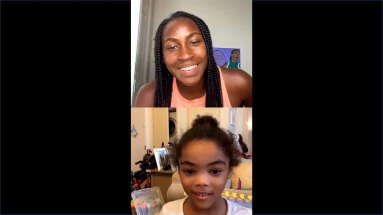 [VÍDEO] Gauff revela momento mais feliz da carreira a fã de 6 anos