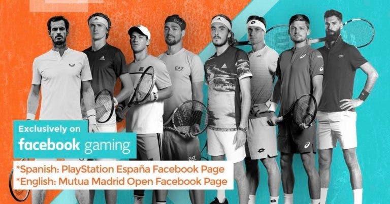 Madrid Open virtual: siga os quartos-de-final em DIRETO