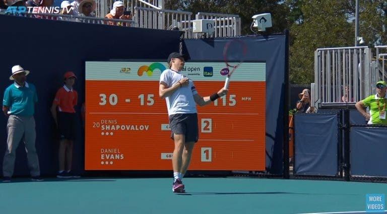 [VÍDEO] Os momentos mais divertidos do Miami Open