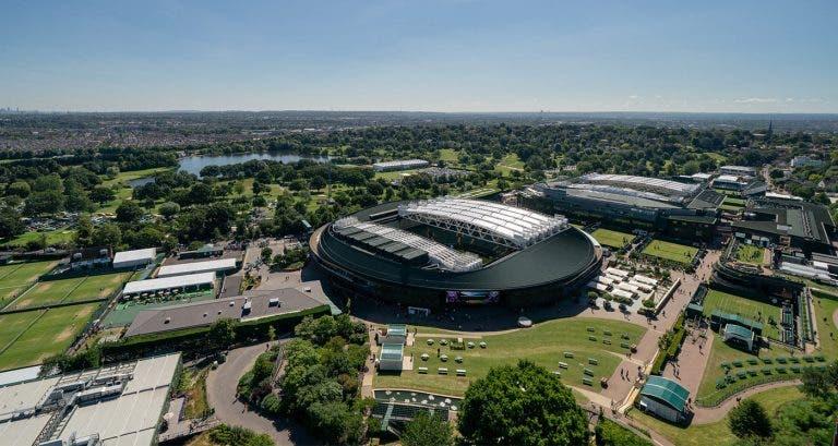 Fim da tradição! Wimbledon vai deixar de parar no 'Middle Sunday' em 2022