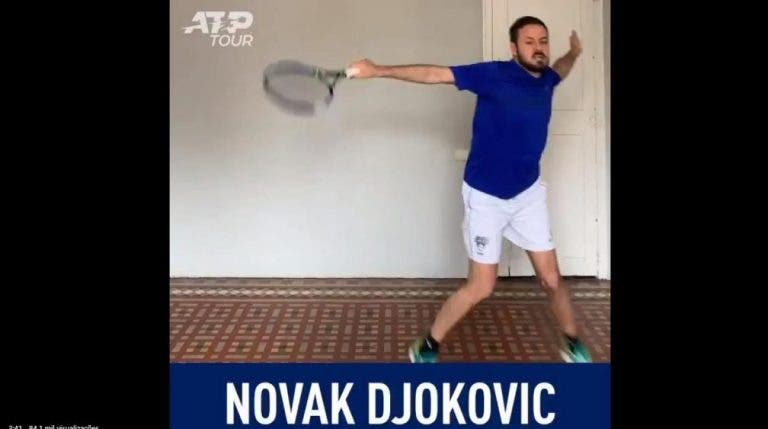 [VÍDEO] Conheça o melhor imitador de tenistas do circuito ATP