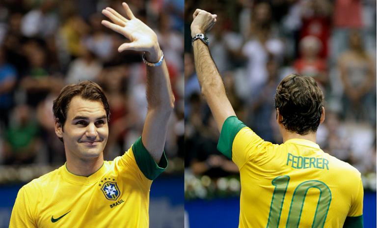 Roger Federer: «Mal posso esperar por voltar ao Brasil»