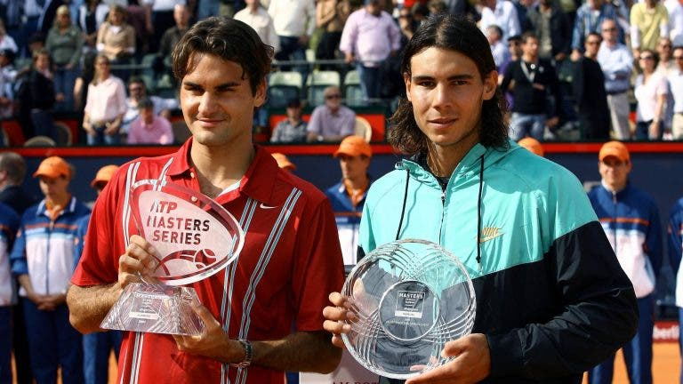 O curioso pedido de Nadal a Federer após ter perdido na final de Hamburgo em 2007