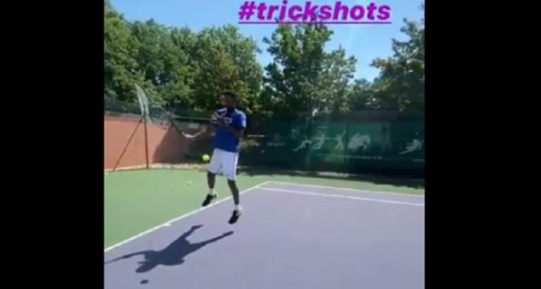 [VÍDEO] No regresso aos courts, Monfils foi… Monfils