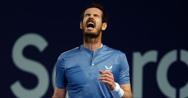 Murray entra em grupo restrito na história do ténis depois da 'remontada' ÉPICA