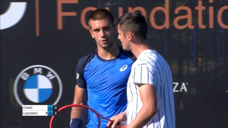 Coric desiste contra o número 539 ATP em Belgrado