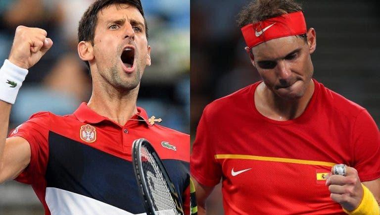 Corretja não vê ninguém a tirar Djokovic e Nadal do topo em 2021