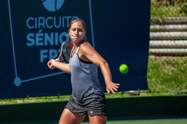 Francisca Jorge bate tenista da casa e abre a porta dos 'quartos' em Verbier
