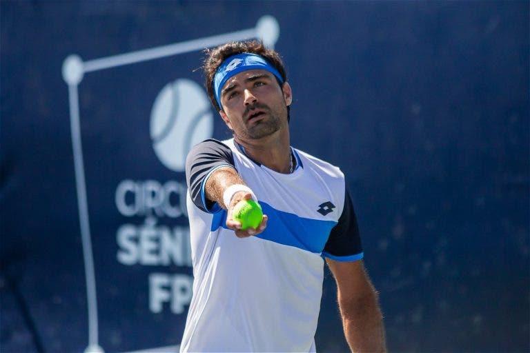 Frederico Silva tem dois match points, mas perde com ex-top 40 ATP em Praga