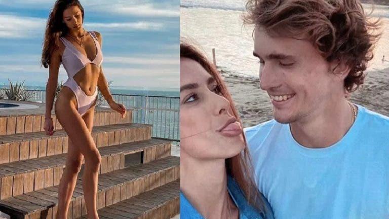 Ex de Zverev 'choca' ao anunciar gravidez e não quer custódia partilhada com o alemão