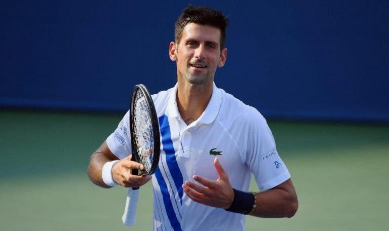 Djokovic não vai jogar o Masters 1000 de Paris a pensar no número 1