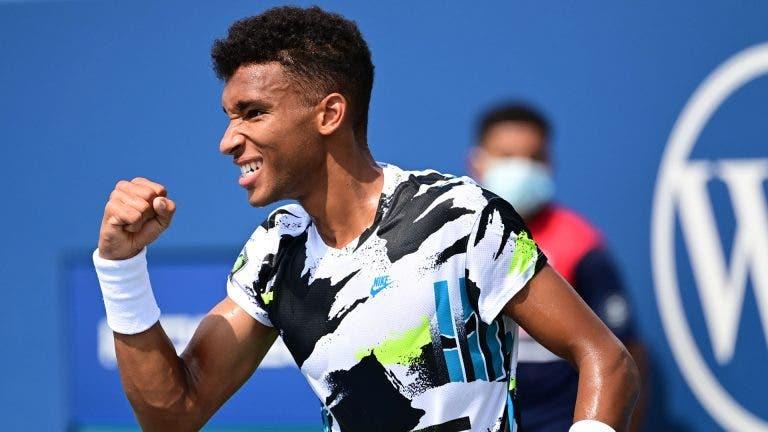 Auger-Aliassime: «Tenho nível para jogar na segunda semana dos Grand Slam»