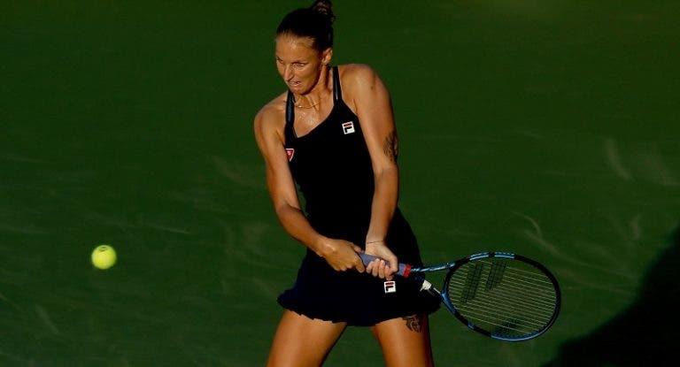Primeira cabeça-de-série Pliskova surpreendida de entrada no torneio de Cincinnati