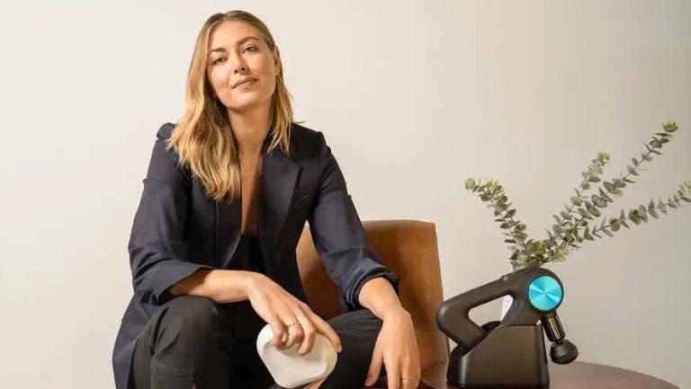 Sharapova tem novo emprego: é assessora estratégica de Therabody