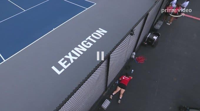 Valeu tudo para ver Serena contra Venus ao vivo em Lexington