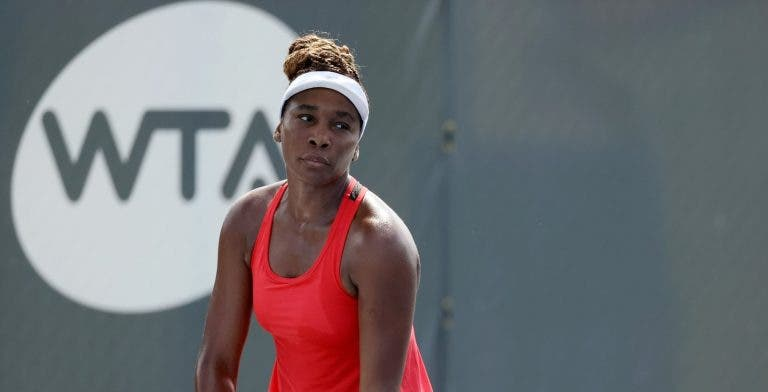A estatística surreal na carreira de Venus Williams: «Ainda sou boa nisto!»